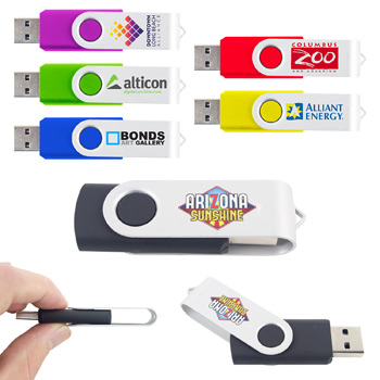 2GB Swivel USB Flash Drive