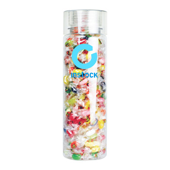 27 oz Cylinder Bottle with Jelly Beans