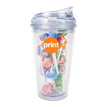 16oz Krystina Tumbler with Dum Dums